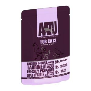 AATU Cat Wet Chicken & Quail 85g
