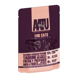 AATU Cat Wet Salmon, Chicken & Prawn 85g