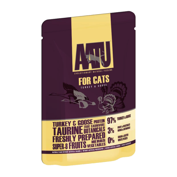 AATU Cat Wet Turkey & Goose 85g