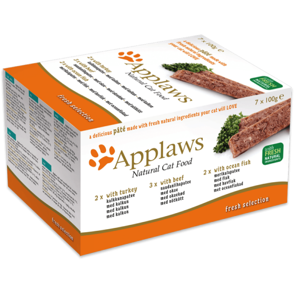 Applaws Cat Pate Fresh Selection Multipack