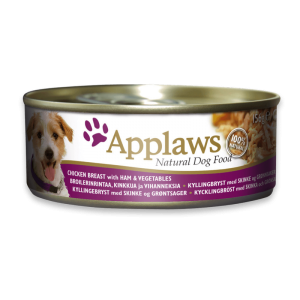 Applaws Dog Chicken Breast with Ham and Vegetables 156g