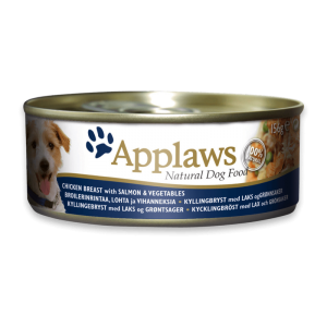 Applaws Dog Chicken Breast With Salmon And Vegetables 156g