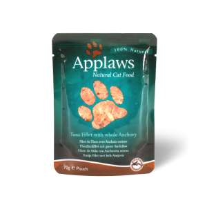 Applaws Tuna Fillet with Whole Anchovy 70g