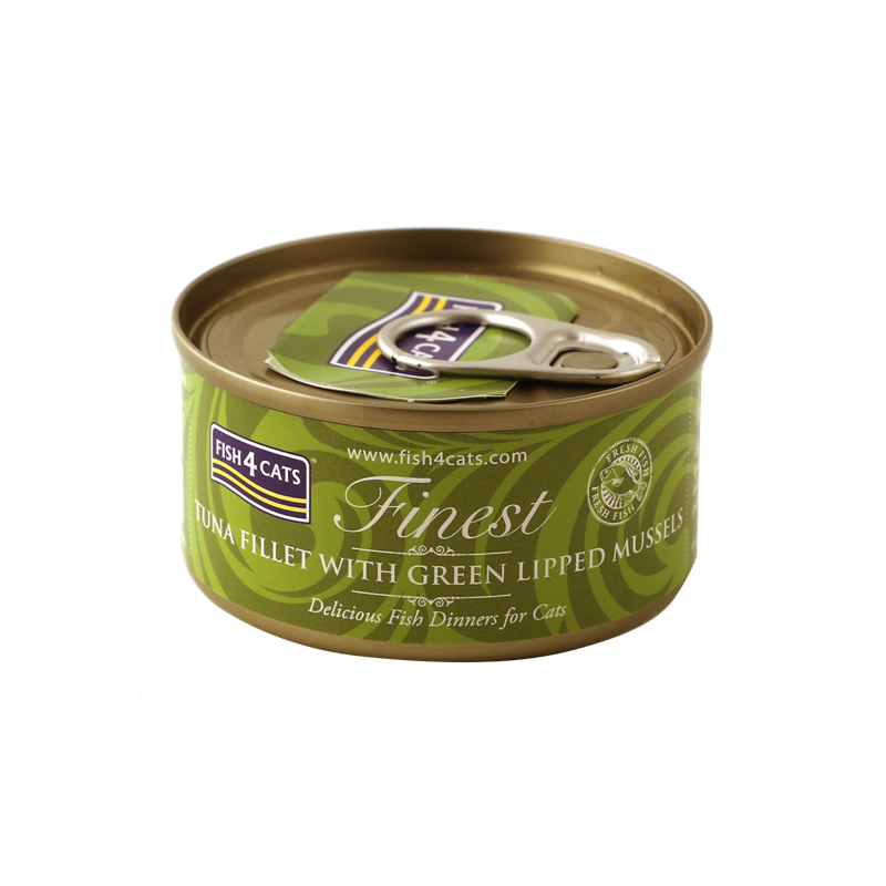 Fish4Cats Finest Tuna Fillet With Green Lipped Mussel