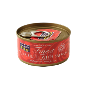 Fish4Cats Finest Tuna Fillet With Salmon