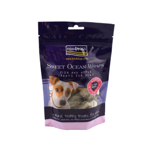 Fish4Dogs Sweet Ocean Wraps (Apple) 100g