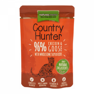 Nature's Menu Country Hunter Cat Pouch Chicken And Goose
