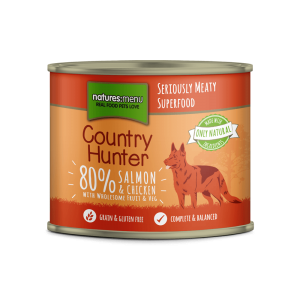 Natures Menu Country Hunter - Salmon with Chicken and Raspberry 600g