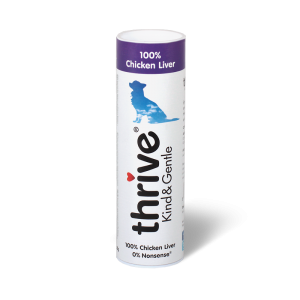 Thrive KIND & GENTLE 100% Chicken Liver Dog Treats