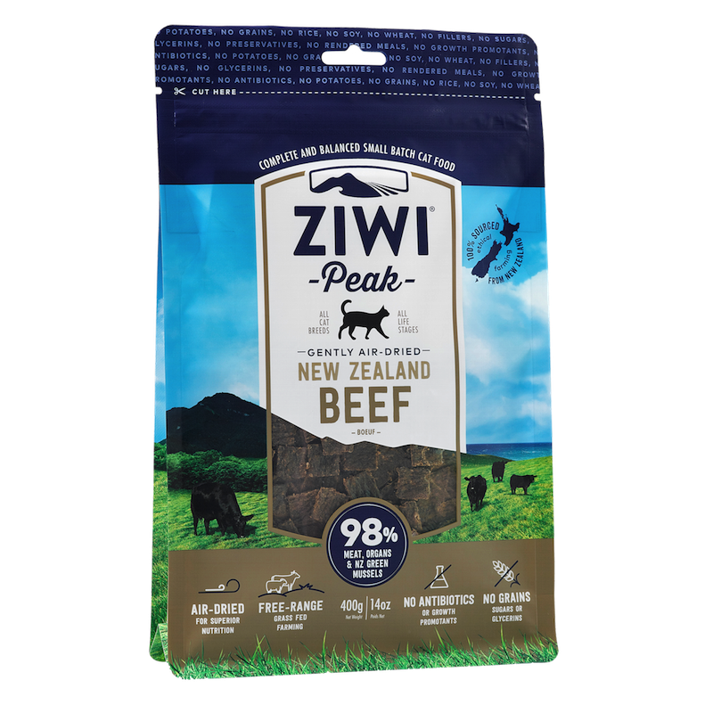 Ziwi Peak Cat Air-Dried BeefZiwi Peak Cat Air-Dried Beef