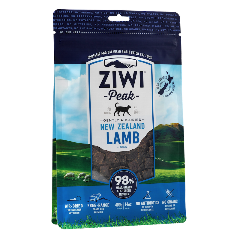 Ziwi Peak Cat Air-Dried Lamb 400g