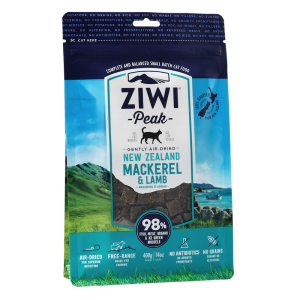 Ziwi Peak Air-Dried Mackerel & Lamb For Cats 400g - Temporarily Unavailable