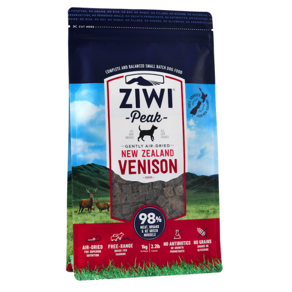 Ziwi Peak Air-Dried Venison For Dogs