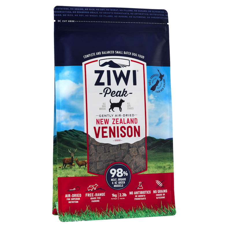 Ziwi Peak Dog Air-Dried VenisonZiwi Peak Dog Air-Dried Venison