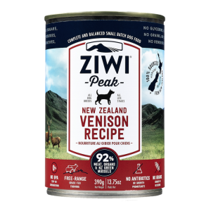 Ziwi Peak Moist Venison For Dogs 390g