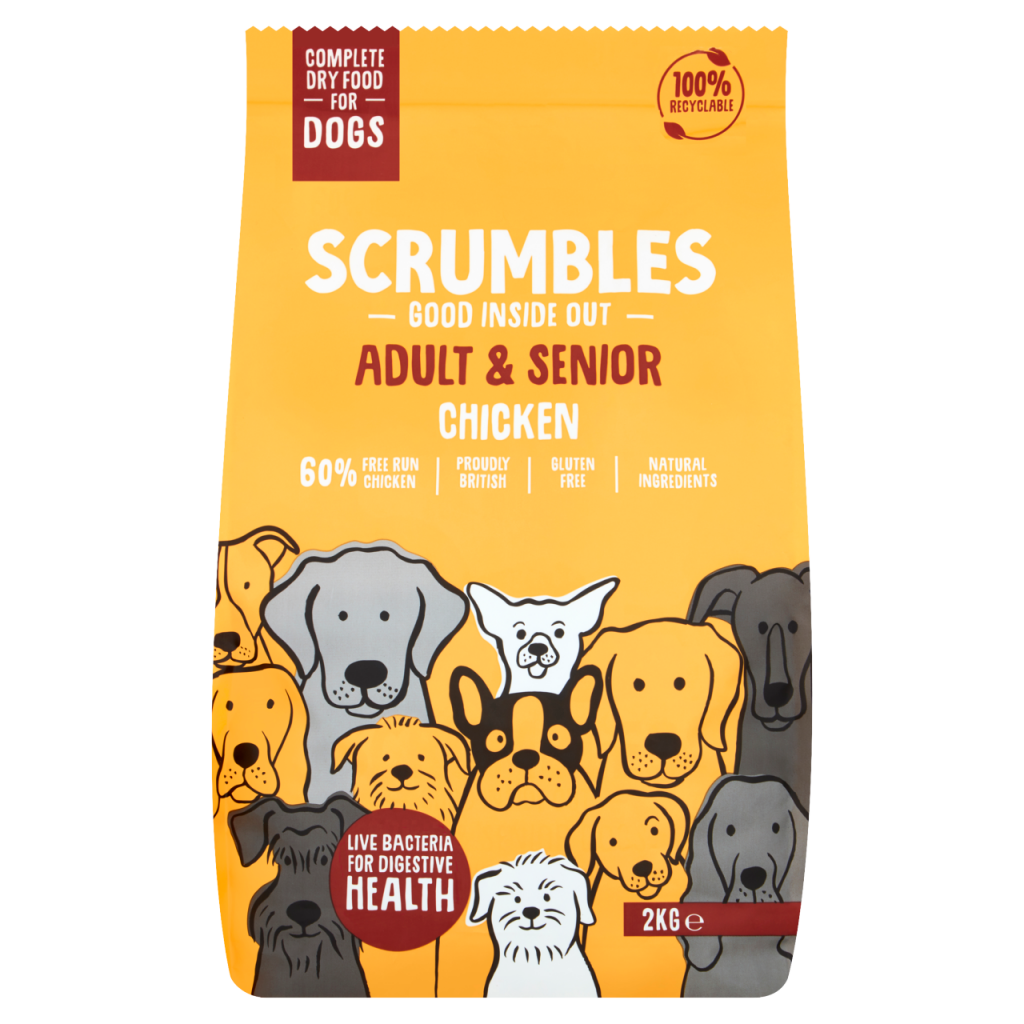 Scrumbles Chicken Dry Food For Dogs