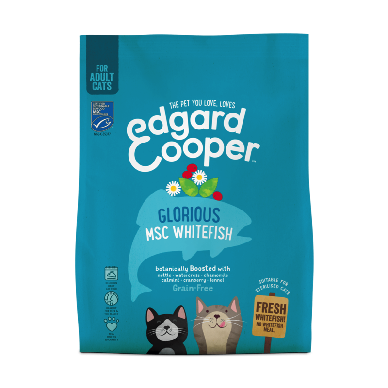 Edgard & Cooper For Cats Fresh MSC Whitefish 1.75kg