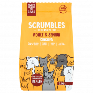 Scrumbles Chicken Dry Food For Cats