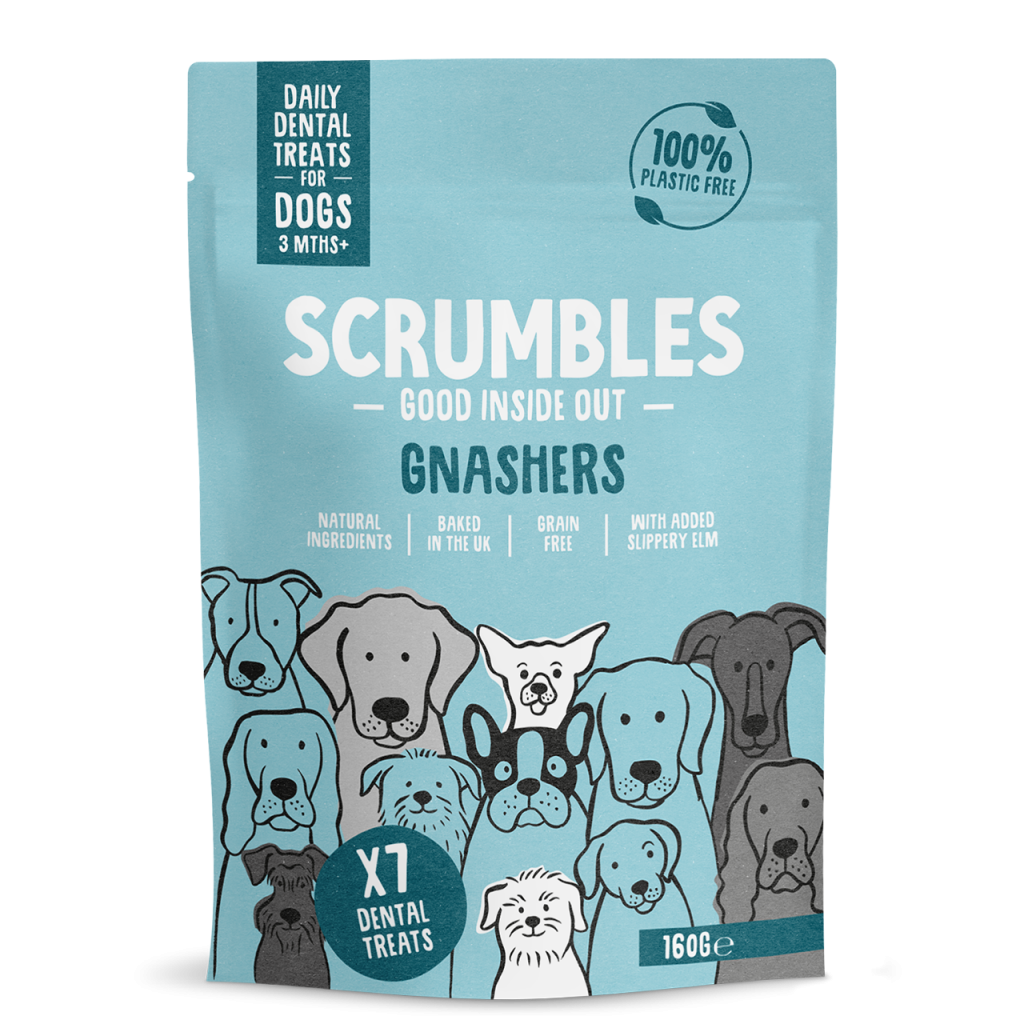 Scrumbles Gnashers Dental Bites For Dogs