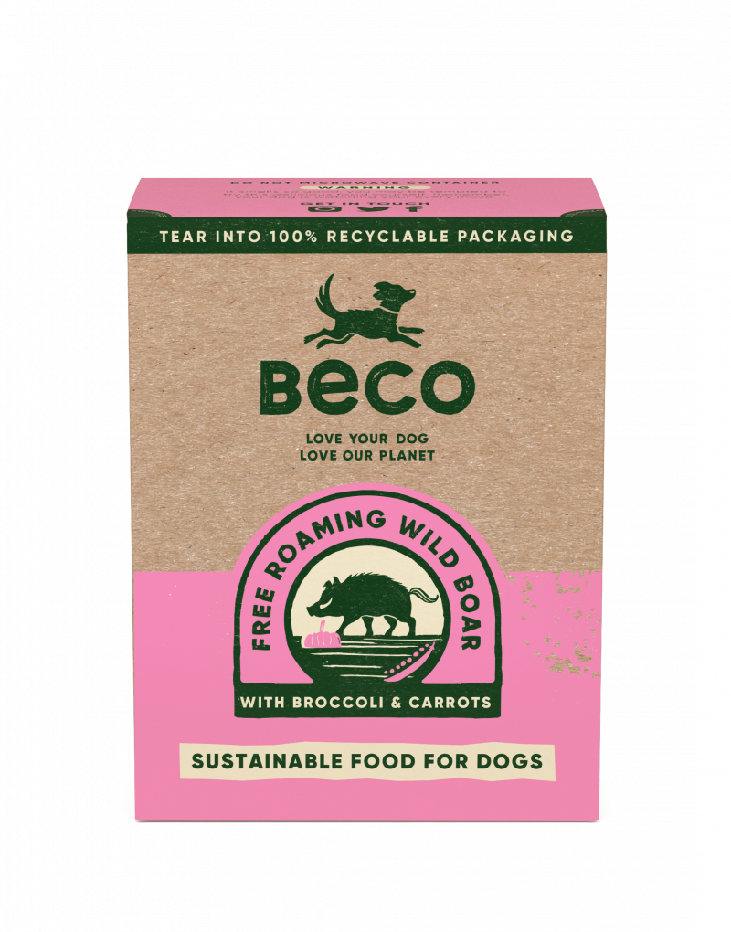 Beco Wild Boar Wet Adult Dog Food 375gBeco Wild Boar Wet Adult Dog Food 375g