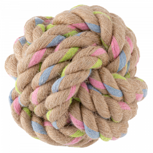 Beco Hemp Rope Ball Tough Dog Toy