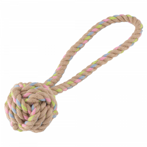 Beco Hemp Rope Ball with Handle