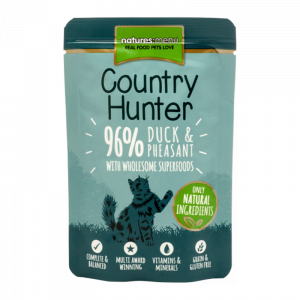 Nature's Menu Country Hunter Cat Pouch Duck And Pheasant