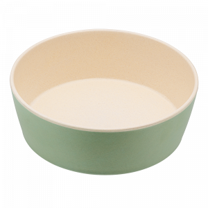 Beco Classic Bamboo Dog Feeding & Water Bowl, Fresh Mint