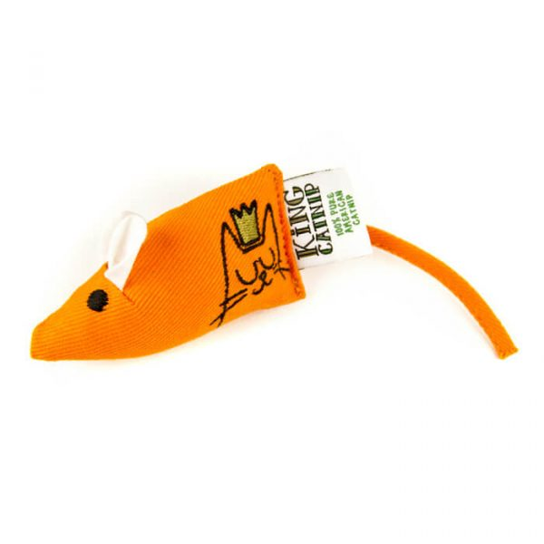 King Catnip Mouse Cat Toy
