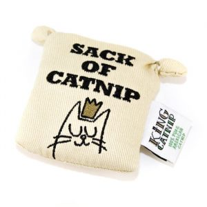 King Catnip Tote Bag Cat Toy
