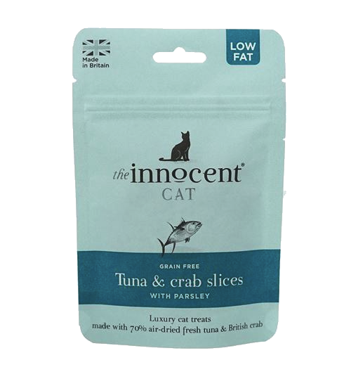 The Innocent Cat Tuna & Crab Slices With Parsley 70gThe Innocent Cat Tuna & Crab Slices With Parsley 70g