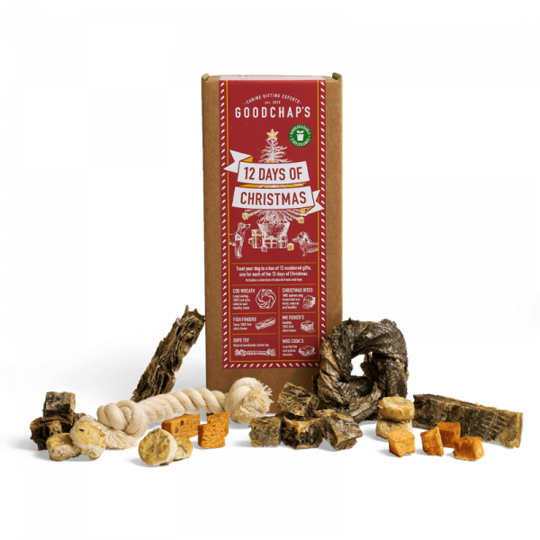 Goodchaps 12 Days Of Christmas Festive Gift Box For Dogs