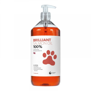 Brilliant Salmon Oil Supplement for Dogs and Cats