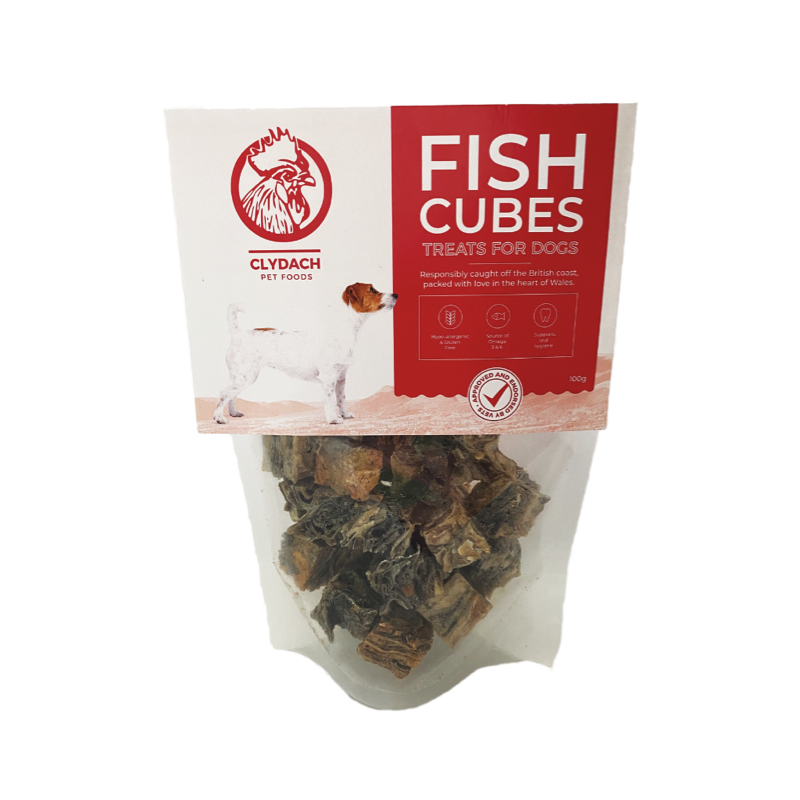 Clydach Farm Fish Cubes 100gClydach Farm Fish Cubes 100g